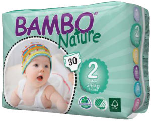 Plenice Bambo, nat., mini 2, 30/1