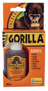 Lepilo Gorilla glue, univerzalno, 60ml