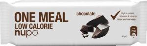 Nadomestilo obroka ploščica Nupo, čokolada, 60g