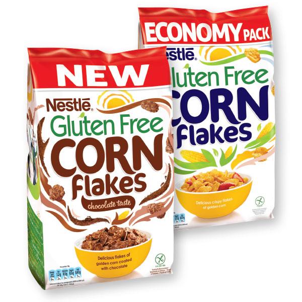 Žitarice Corn flakes, brez glutena, 500g