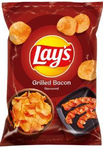 Čips Lay's slanina z žara, 140g