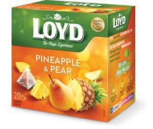 Čaj Loyd, ananas in hruška, 20x2g