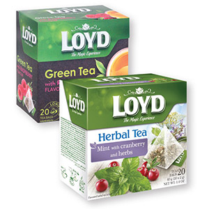 Čaj Loyd, meta, brusnica, zelišča, 40g