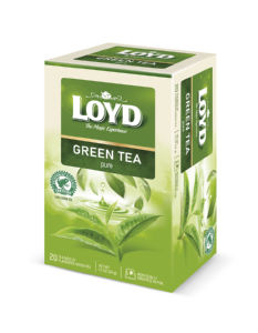 Čaj Loyd zeleni, Green Sense pure, 34 g