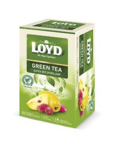 Čaj Loyd zeleni, Green Sense kutina in opuncija, 34 g
