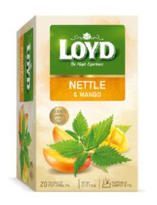 Čaj Loyd, kopriva in mango, 30 g