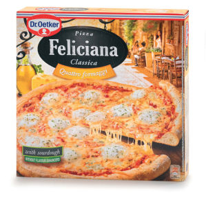 Pizza feliciana 4 vrste sira, 325 g