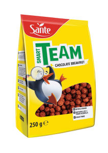 Kosmiči Sante, Smart team čokoladne kroglice, 250g