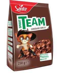 Kosmiči Sante, Smart team čokoladne školjke, 250g