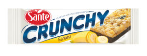 Rezina Sante, žitna, banana, čokolada, 40g