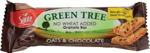 Ploščica žitna Sante Granola čokolada, 40g