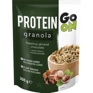Granola Protein, Go On, Sante, oreški in čokolada, 300 g
