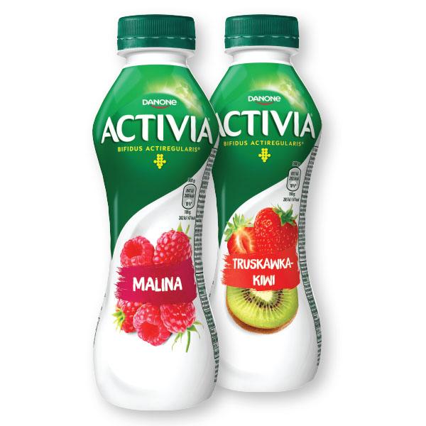 Napitek Activia jogurtov, malina, 300g