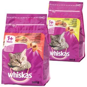 Polnjeni briketi za mačke Whiskas, več okusov