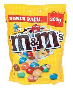 Bonboni M&M, peanut, čokoladni, 300g