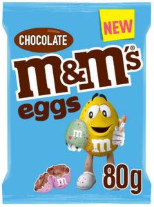 Čokoladne jajce M&M's, eggs, 80 g