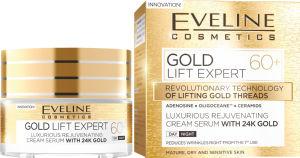 Krema Eveline Lift Expert Gold 60+, 50ml