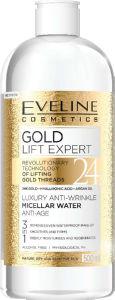 Micelarna raztopina Eveline, gold lift, 500ml