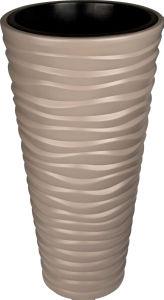 Cvetlični lonec Sand, rjava 40