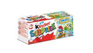 Čokoladna jajčka Kinder Surprise, 3x128g