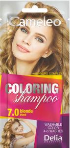 Šampon Cameleo, barvni, blond 7.0