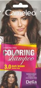 Šampon Cameleo, barvni, dark brown 3.0