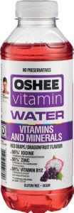 Pijača Oshee, vitamini in minerali, 0,55l