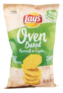 Čips Lay's Oven, jogurt, 125 g
