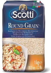 Riž okroglozrnati Riso Scotti, 1 kg