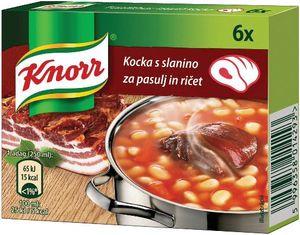 Kocka Knorr, s slanino, 60g