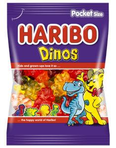 Bonboni Haribo Dinos, 100 g