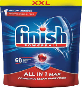 Finish All in 1 Regular, 60/1