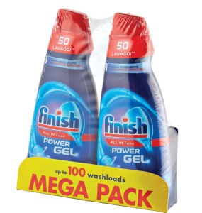 Finish gel Regular, Side by side, 2x1l