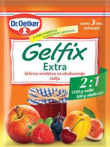 Gelfix Dr.Oetker, extra, slive, 25g