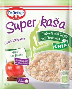 Kaša Super s jabolkom, cimetom in chia semeni, 50 g
