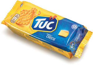 Krekerji Tuc, cheese, 100 g