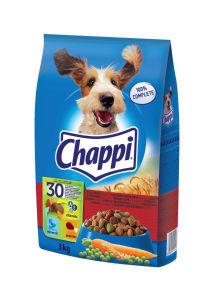 Chappi, dry, perutnina, govedina, 3kg
