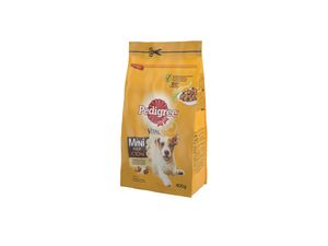 Briketi za pse Pedigree, small dog, perut., zel., 400g