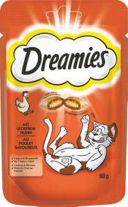 Hrana za mačke Dreamies, več vrst, 60g