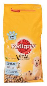 Briketi za pse Pedigree, pišč./riž.,2,2kg