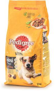 Pedigree Dry Small, piščanec/zelenjava, 2kg