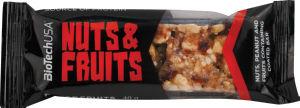 Ploščica Biotech Usa, Nut&Fruits, 40g
