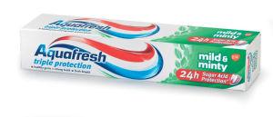 Zobna pasta Aquafresh, mild&mint, 75ml