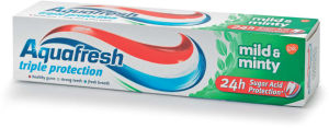Zobna pasta Aquafresh3, mild, 100ml