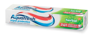 Zobna pasta Aquafresh, herbal, 75ml