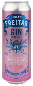 Pijača alk.Gin&rose, Freitag, alk.5 vol %, 0,5l