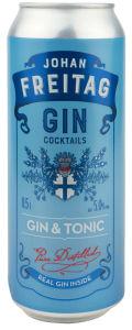 Pijača alk.Gin&tonic, Freitag, alk.5 vol %, 0,5l