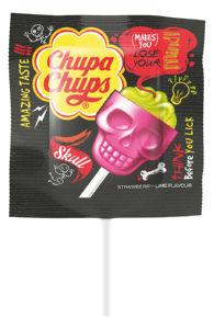 Lizika Chupa Chups Skull, 15g