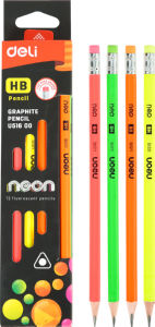 Svinčnik grafitini HB Neon deli, 12/1
