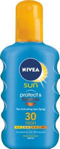 Sprej Nivea Sun za sončenje, ZF30, 200ml